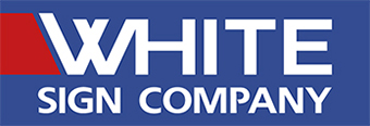 White Sign Company Logo